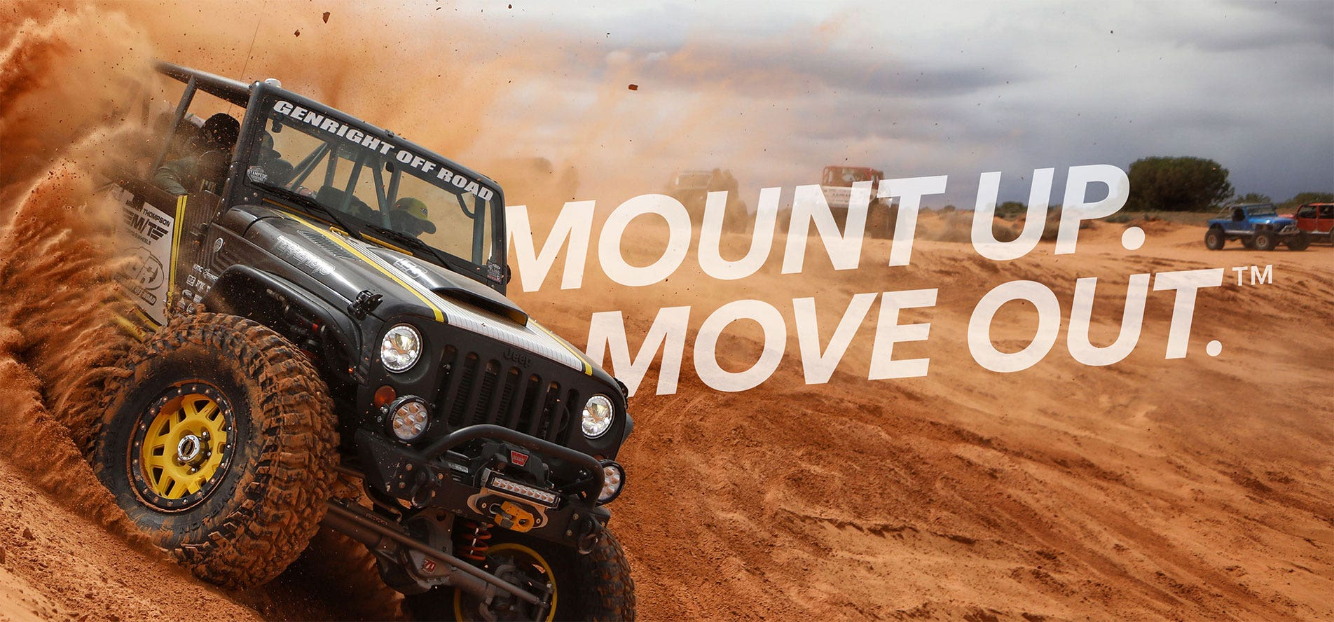 Mount Up. Move Out. UTV/SxS/ATV handle grip powersports accessory