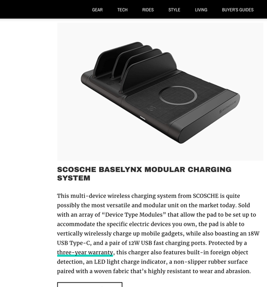 Image of Screen shot of online article