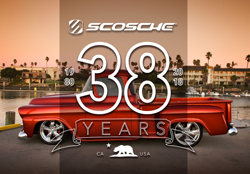 Scosche Industries Celebrates 38 Years of Consumer Tech, Car Audio and now Powersports Product Excellence