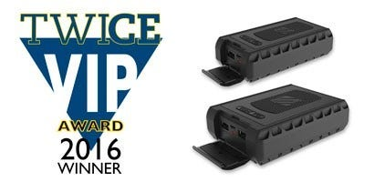 TWICE VIP Award - 6000 Rugged Portable Backup Battery and 12000 Rugged Portable Backup Battery
