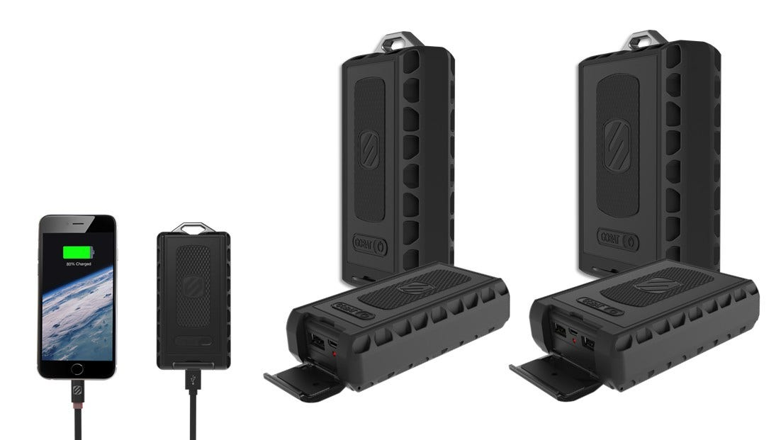 Rugged Portable Backup Battery