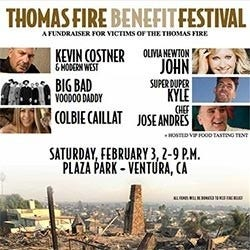 Thomas Fire Benefit Festival