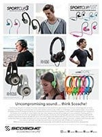 TW 09-15 GuideToHeadphones FullPageSuppliment SCOSCHE AR1 advertisement