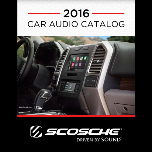 2016 Scosche Car Audio Catalog