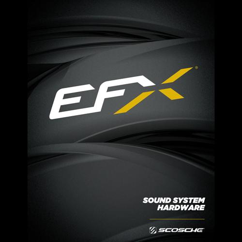 Scosche EFX Sound System Hardware Catalog