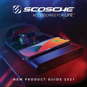 Image of Scosche New Product 2021 Guide Front Cover