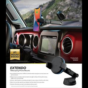 Image of Extendo Mounts One-Sheet Flyer 2021