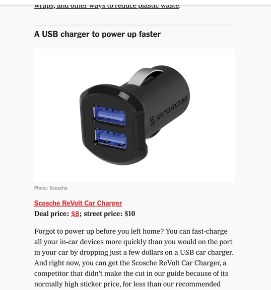 Image of Screen shot wirecutter online article