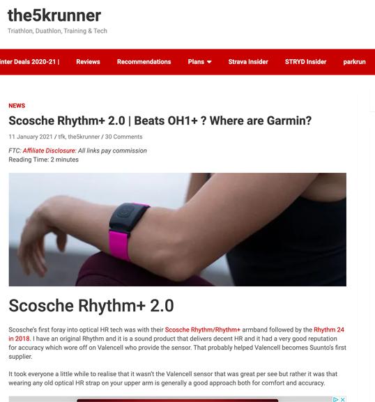 Image of Screen shot online article apple Insider