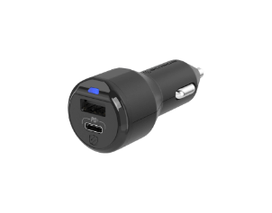 CPDA2C8 18W USB-C & 12W USB-A Car Charger Graphic
