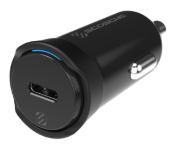 CPDC20 Single 20W USB-C Car Charger Graphic
