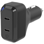 CPDC8C8 Dual 18W USB-C Car Charger Graphic