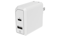 HPDA2C8WT 18W USB-C & 12W USB-A Home Charger Graphic