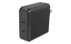 HPDC8C8 Dual 18W USB-C Home Charger Graphic