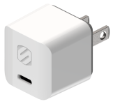 HPDC20WT Single 20W USB-C Home Charger Graphic