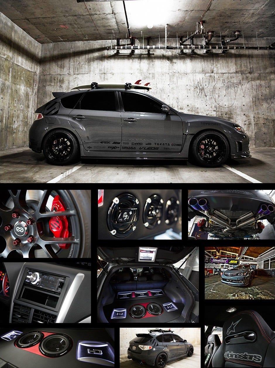 Scosche Subaru STI