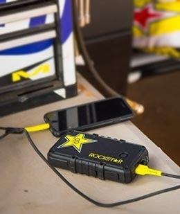 Rockstar GoBat 10K Heavy-Duty Portable 2-Port Backup battery